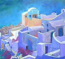 Santorini by Emily King