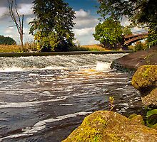 Bevere Weir by SiClews