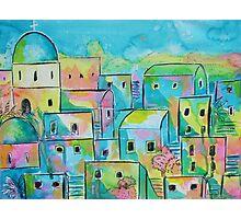 Mediterranean village Photographic Print