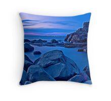 Tomaree Turret Sunset Throw Pillow