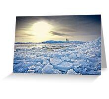 On Thin Ice Greeting Card