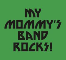 My Mommy's Band Rocks One Piece - Short Sleeve