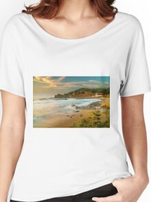 A boat shed at seaside Women's Relaxed Fit T-Shirt