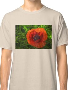 Red Poppy - Vibrant, Bold and Cheerful Classic T-Shirt