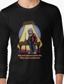 Old Pool Players Long Sleeve T-Shirt