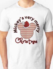 Mickeys Very Merry Christmas T-Shirt