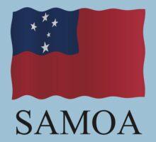 Samoan flag by stuwdamdorp
