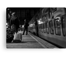 Fast Train to Paris ... Canvas Print