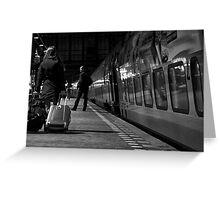 Fast Train to Paris ... Greeting Card