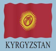 Kyrgyzstani flag by stuwdamdorp