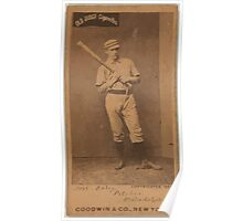 Benjamin K Edwards Collection Daily Philadelphia Quakers baseball card portrait Poster