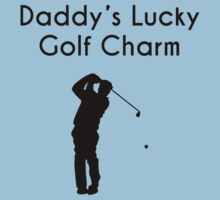 Daddy's Lucky Golf Charm Kids Clothes
