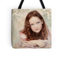 Pre-Raphaelite Redhead on a Pale Afternoon Tote Bag