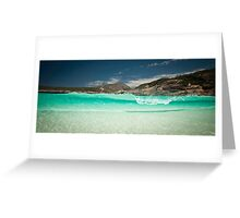 Little Hellfire Bay - Western Australia Greeting Card