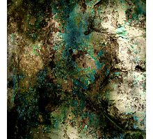 Teal Rust Photographic Print