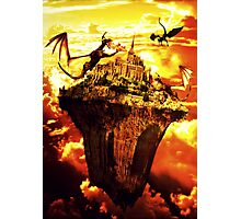 Fire Dragons In The Sky Photographic Print