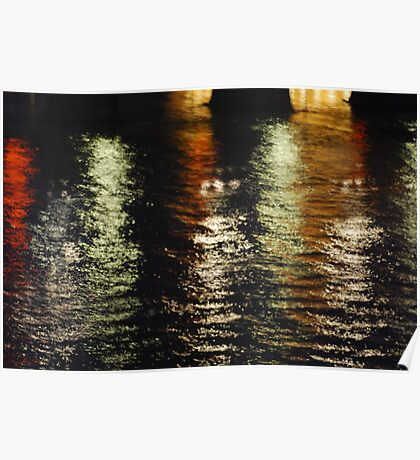 The Thames Lights  Poster