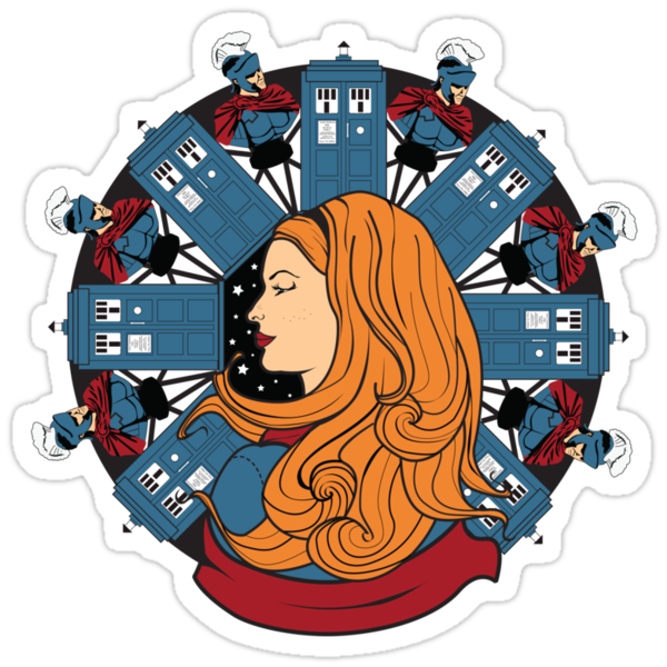 Amelia Pond Nouveau by Rachael Thomas