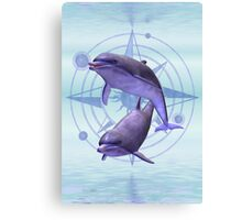 Star Sign .. Pisces Canvas Print