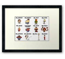 Mr Fighter II Framed Print