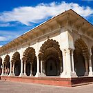 Diwan-i-Am at Agra Fort by Nickolay Stanev