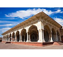 Diwan-i-Am at Agra Fort Photographic Print