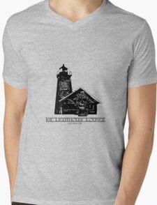 Lighthouse Lounge Mens V-Neck T-Shirt