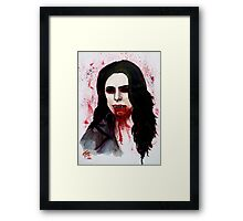 The Blood Countess Framed Print