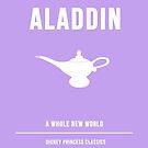 Disney Princesses: Aladdin Minimalist by ofalexandra