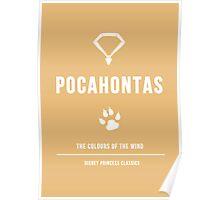 Disney Princesses: Pocahontas Minimalist Poster