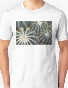 Sharp Beauty - Elegantly Ordered Cactus Needles Unisex T-Shirt