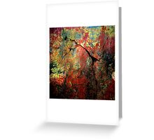Grunge Wall Greeting Card