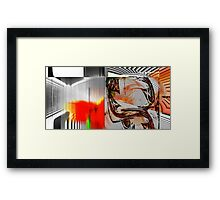 Abstract_010312_04 Framed Print