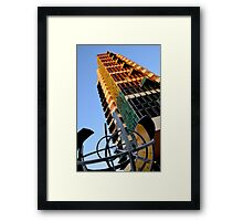 Price Tower & Compass Framed Print