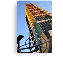 Price Tower & Compass Metal Print