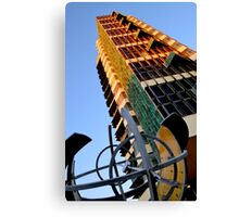Price Tower & Compass Canvas Print