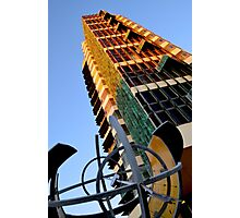 Price Tower & Compass Photographic Print