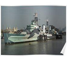 HMS Belfast C35 Poster