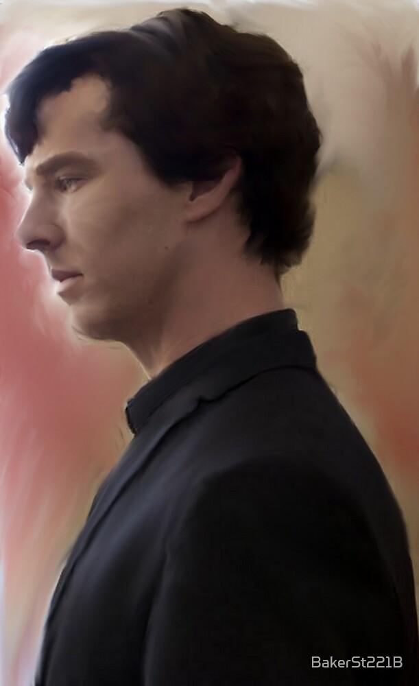 BBC Sherlock Painting by BakerSt221B