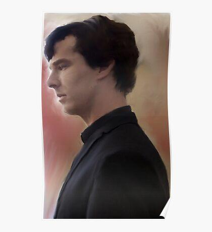 BBC Sherlock Painting Poster