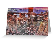 Utopia city Greeting Card