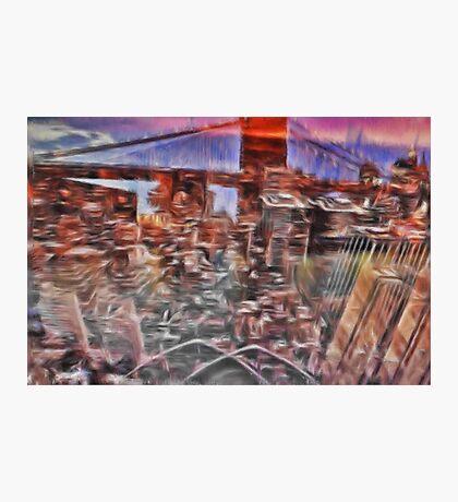 Utopia city Photographic Print