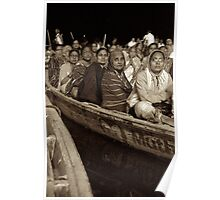 Boats for Puja Poster