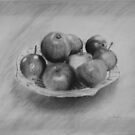 Bowl of Apples by Lynn Hughes
