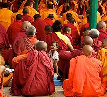 A Girl Among Monks by Valerie Rosen