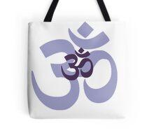 Om Aum symbol - purple Tote Bag