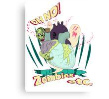 Zombies etc. Canvas Print