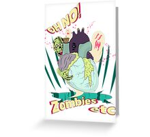 Zombies etc. Greeting Card