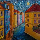 Prague a la VanGogh by Jo-Anne Gazo-McKim