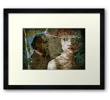 The Faces of Time Framed Print